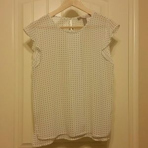 Speckled blouse - gently used